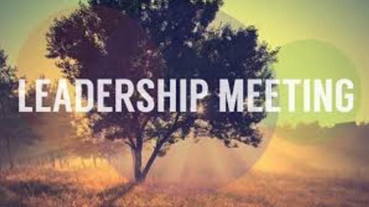 Medium leadership meeting