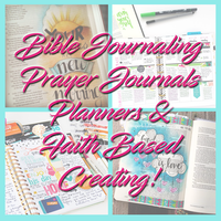 Passion Group- Bible Journaling, Prayer Journals, Planners & Faith Based Creatiing