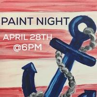 Paint Night - April 28th at 6PM