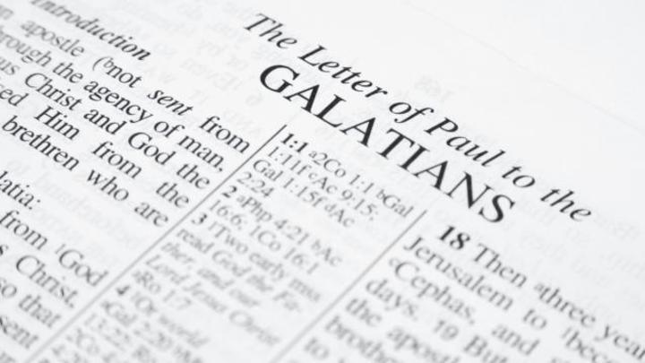 Medium book of galatians