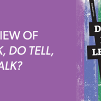 """""""Do Ask, Do Tell, Let's Talk"""""""