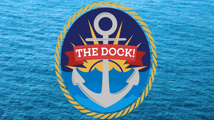 Medium the dock 2018 blue