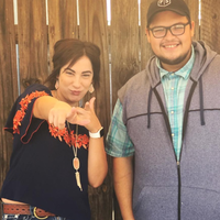 Cristian Ortiz-Salas & Carrie Mitchell