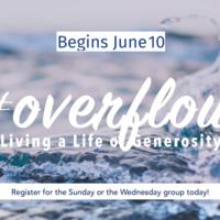 #Overflow: Living a Life of Generosity Sundays