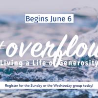 #Overflow: Living a Life of Generosity
