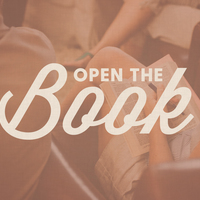Open The Book (Wednesday 1:00pm-2:30pm)