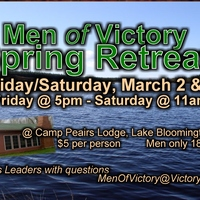 Men's Retreat 2018 - Hear My Story