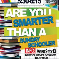 Are you smarter than a Sunday schooler