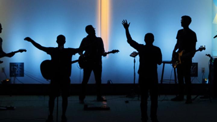 Medium worship page header