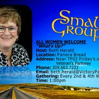 """Women's Small Group """"What's Up?"""""""